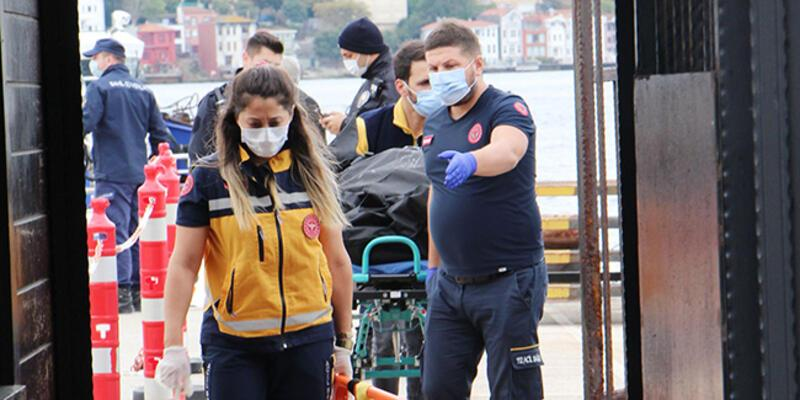 Ortaköy'de denizde ceset bulundu