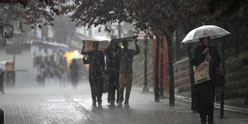 Meteoroloji birçok ili uyardı: Kuvvetli geliyor