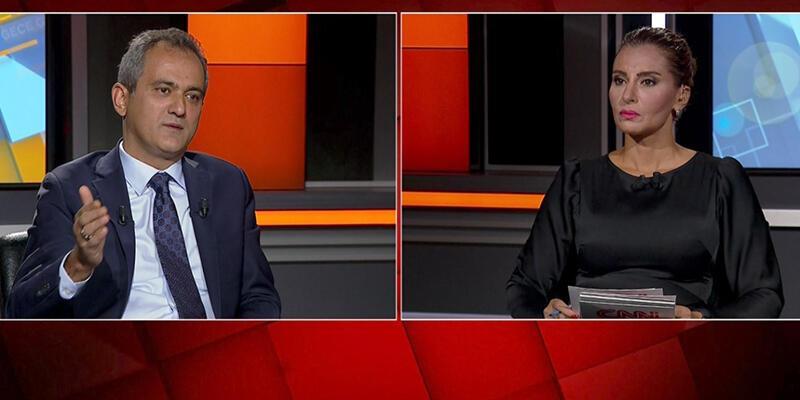 Son dakika haberi: Ders saatleri azaltılacak mı? Milli Eğitim Bakanı Özer CNN TÜRK'te
