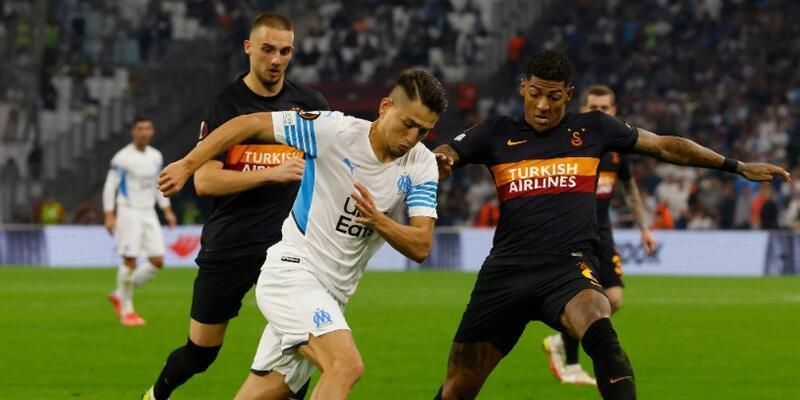Galatasaray Marsilya'dan puanı aldı