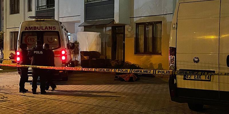 Konya'da 6. kattaki evlerinin balkonundan düşen genç öldü