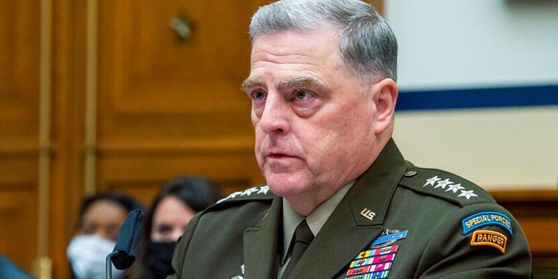 """ABD Genelkurmay Başkanı Mark Milley: """"Afganistan'daki savaş istediğimiz şekilde bitmedi"""""""