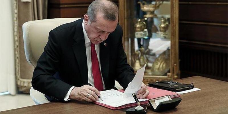 Cumhurbaşkanı Erdoğan imzaladı! Resmi Gazete'de yayımlandı