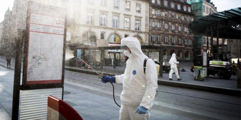 Fransa'da son 24 saatte 4 bin 948 vaka tespit edildi