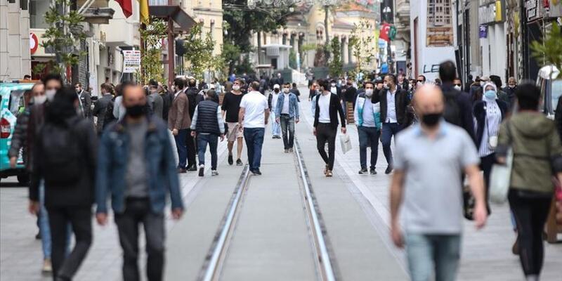 Kovid-19 vakaları 50 ilde 100 bin kişide 200'ü aştı