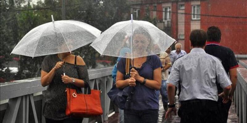 Meteoroloji'den 7 ile sağanak yağış uyarısı! 7 Ekim hava durumu tahminleri