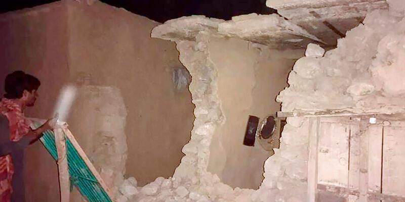 Pakistan'da 5,9 büyüklüğünde deprem: 20 kişi öldü