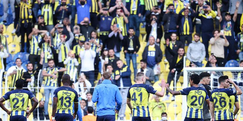 Son dakika... Fenerbahçe tribünde de lider