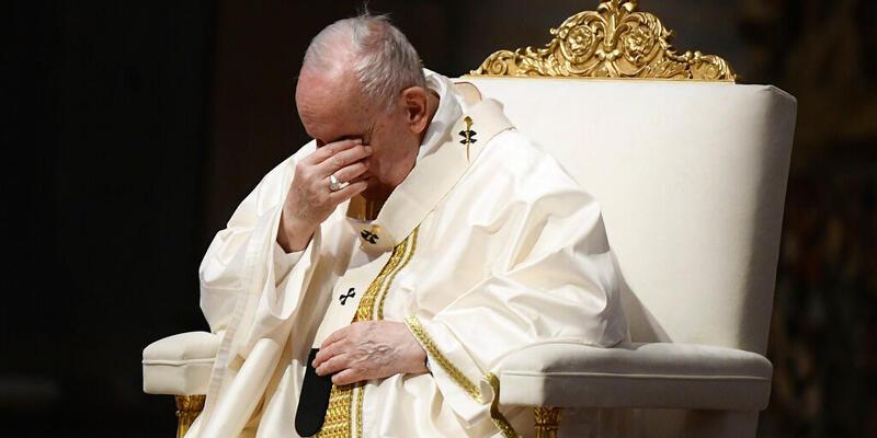 """Papa Francis: """"Vakit, utanma vaktidir"""""""