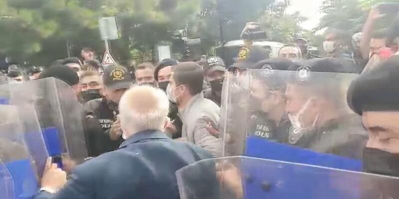 Boğaziçi tutuklamaları için yapılan eyleme polis müdahalesi: Çok sayıda gözaltı