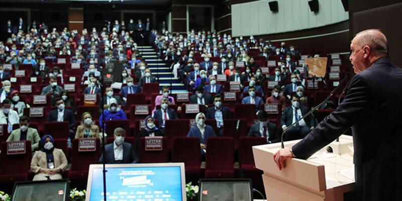 Cumhurbaşkanı Erdoğan, Teşkilat Akademisi Eğitim Programı açılışına katıldı