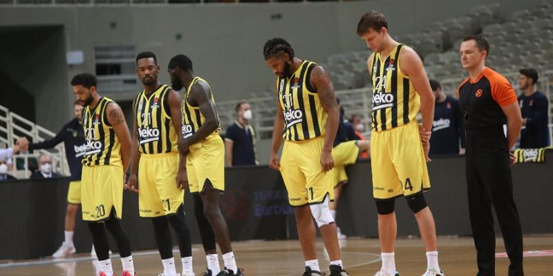 Fenerbahçe ilk yenilgisini Panathinaikos'a karşı aldı