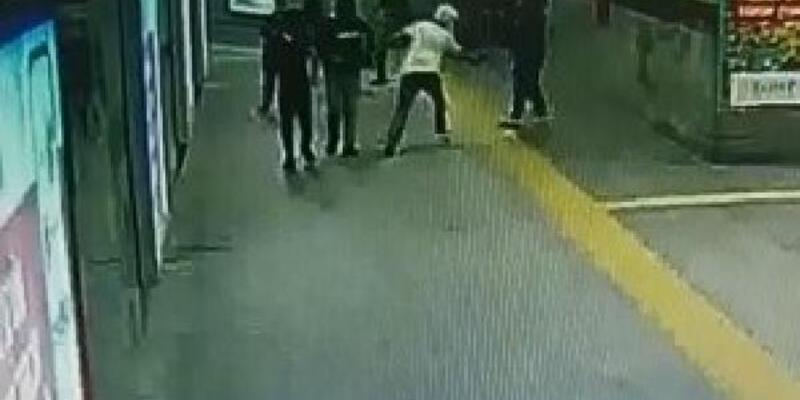 Şişli'de iki kişiye kurşun yağdıran zanlı kamerada