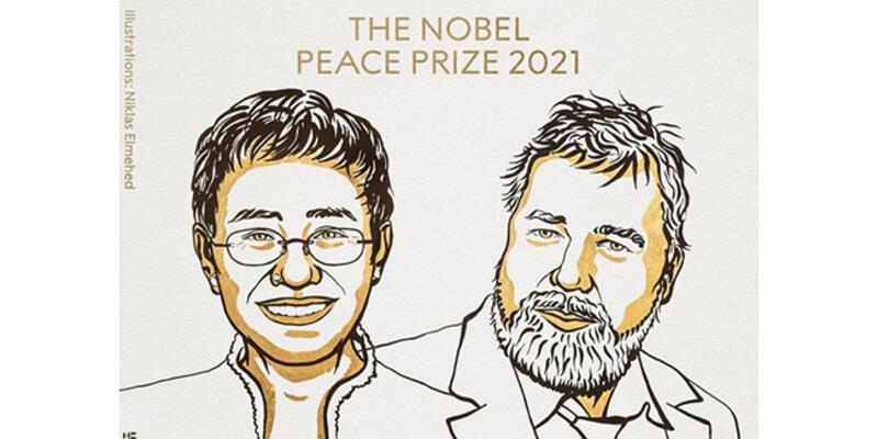 SON DAKİKA: Nobel Barış Ödülü sahiplerini buldu