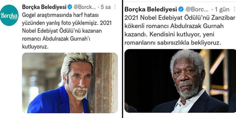 Borçka Belediyesi'nin 'Nobel Edebiyat Ödülü' paylaşımı sosyal medyada gündem oldu