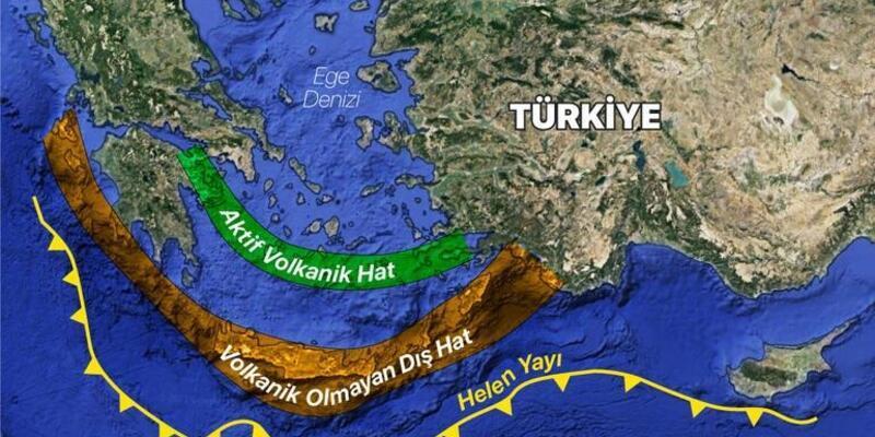 Helen Yayı nedir, nerededir? Helen Yayı depremleri ve tarihleri..