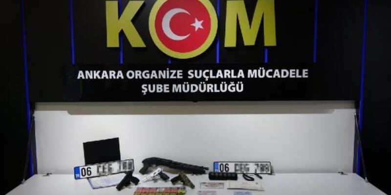 Ankara'da suç örgütüne operasyon: 14 gözaltı
