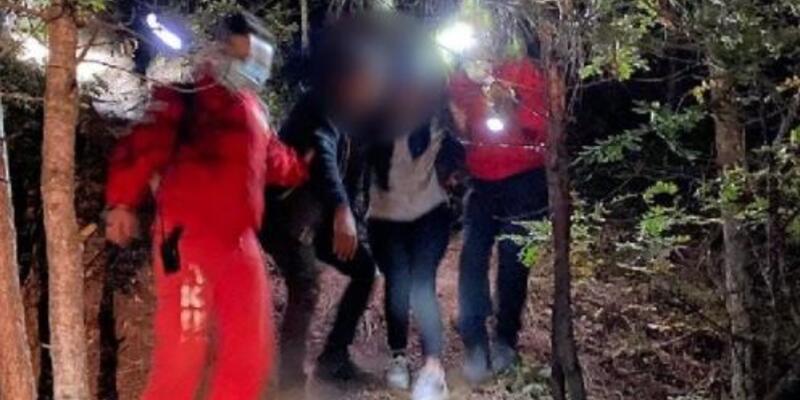 Babasıyla tartıştı, 3 saat sonra ormanda bulundu