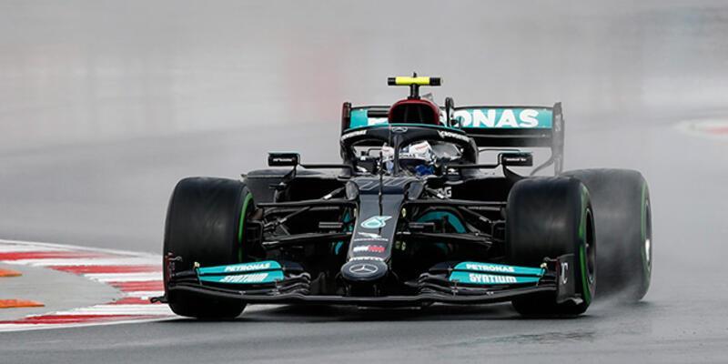 F1 Türkiye Grand Prix'sinde ilk cep Bottas'ın