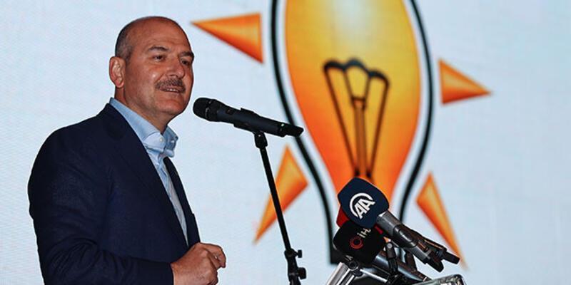 Bakan Soylu, AK Parti Başakşehir İlçe Danışma Meclisi toplantısında açıklamalarda bulundu