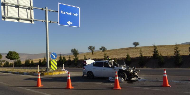 Afyonkarahisar'da feci kaza! 3 kişi öldü, bir kişi yaralandı