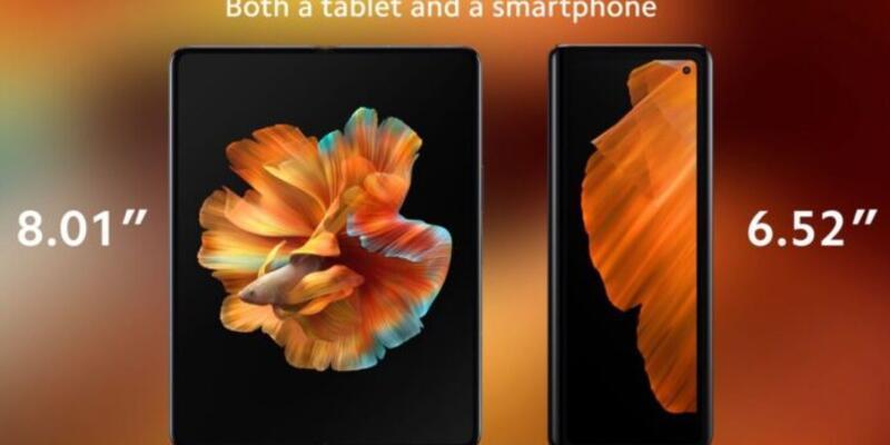 Xiaomi Mi Mix Fold Çin dışında da satılack
