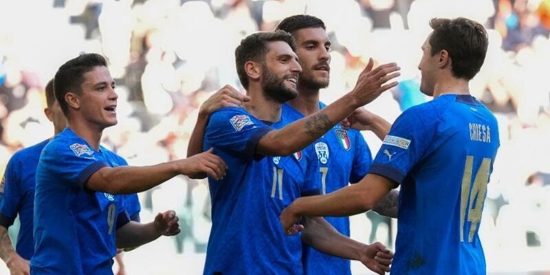 Uluslar Ligi'nde İtalya üçüncü oldu