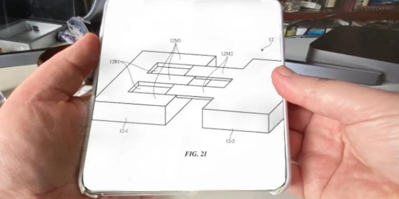 Apple, katlanabilir telefonlarla ilgili birkaç patent başvurusunda bulundu