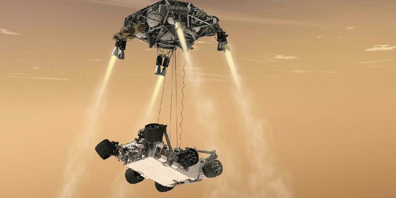 NASA Mars'ta su olduğunu tespit etti