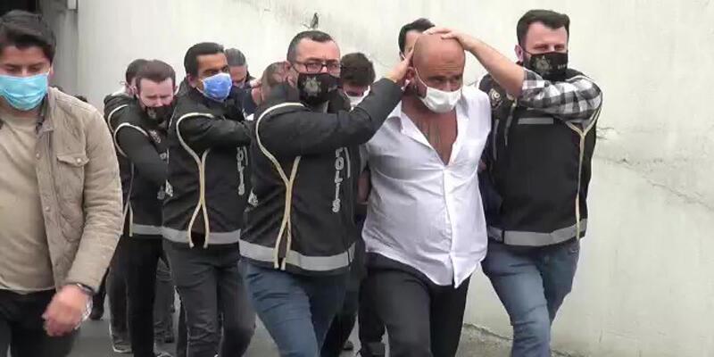 """""""Lions-Cartel"""" suç örgütü lideri Ahmadi ile 5 çete üyesi adliyeye sevk edildi"""