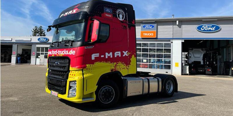 Türk kamyonu Almanya pazarında