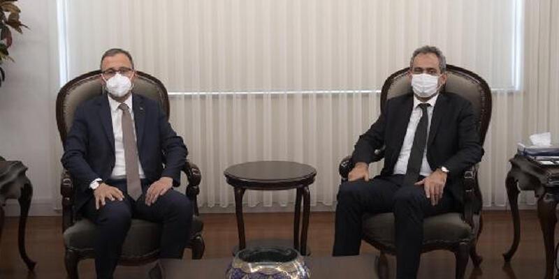 Bakan Özer, Bakan Kasapoğlu'nu ağırladı