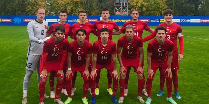 U18 Milli Takımımız Romanya'ya 1-0 yenildi