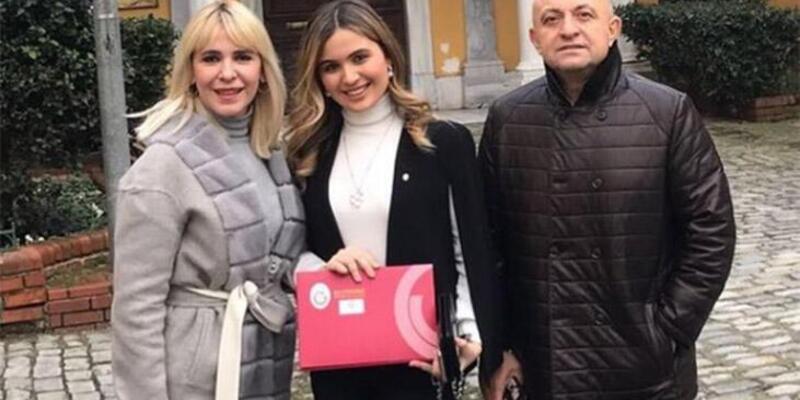 Sinan Engin ile Ayşe Engin'in kızları Elif Engin avukat oldu