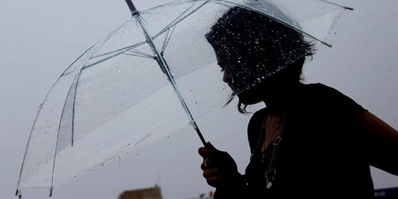Meteoroloji'den sağanak yağış ve kuvvetli rüzgar uyarısı..14 Ekim Perşembe hava durumu
