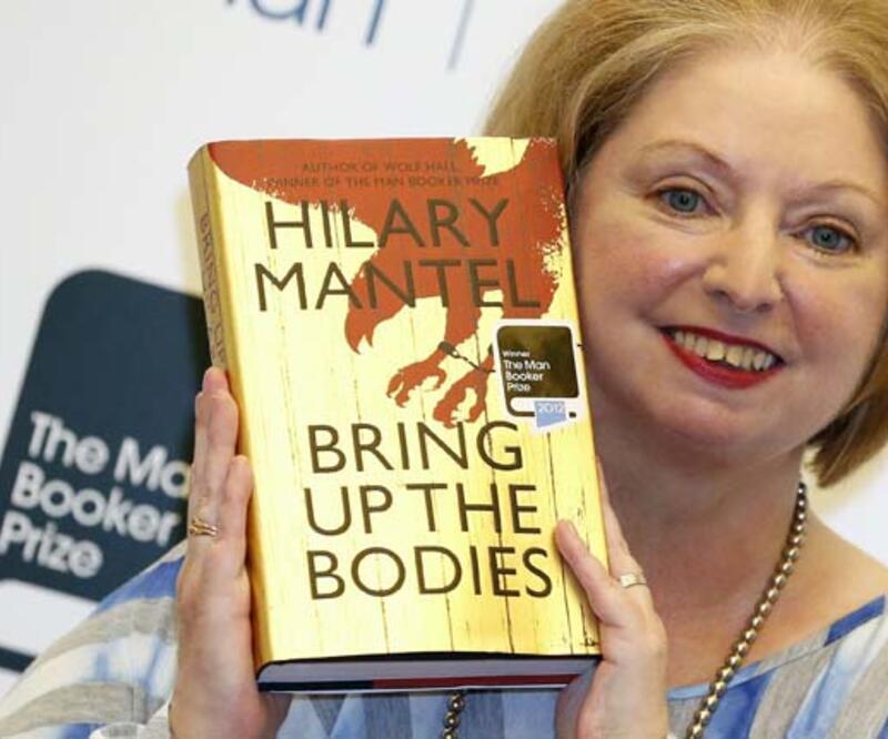 """""""Man Booker"""" ödülünün sahibi Hilary Mantel"""