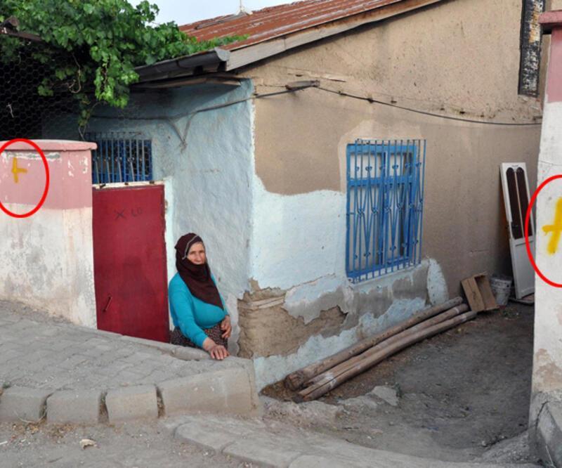 Elazığ'da Alevi evleri işaretlendi!