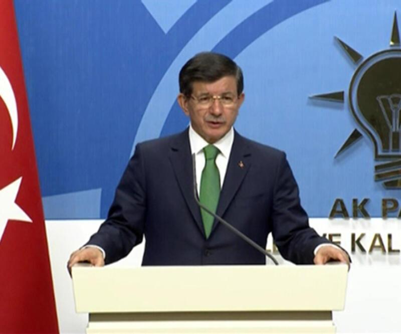 Başbakan Davutoğlu'ndan siyasi liderlere ortak tavır çağrısı