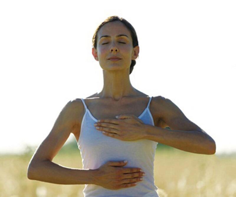 Doğru nefesle stresiniz azalsın, karnınız düzleşsin!