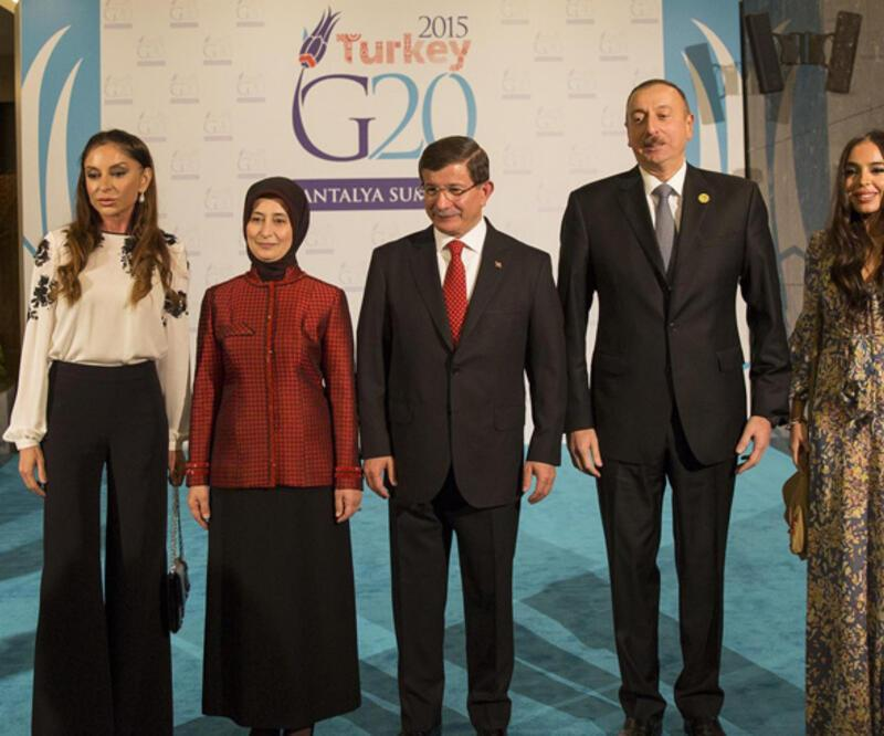 Başbakan Davutoğlu'ndan konuk liderler için resepsiyon