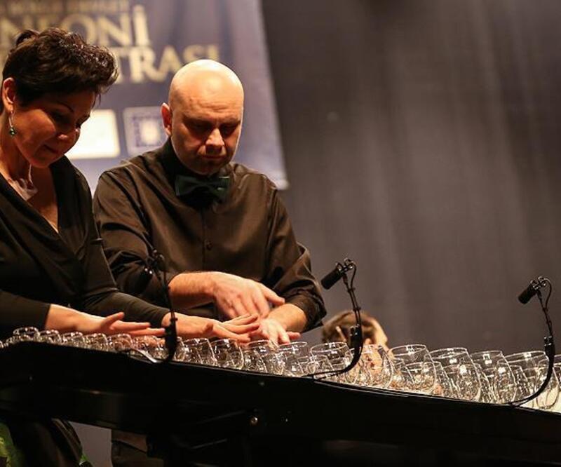 """Dünyaca ünlü """"Glass Duo"""" ilk kez Türkiye'de"""