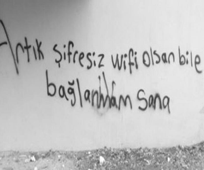 Sokağın sesi duvar yazıları