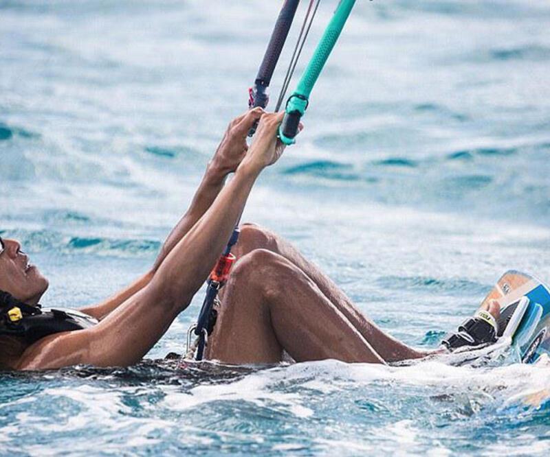 Obama ve Branson'ın surf yarışı