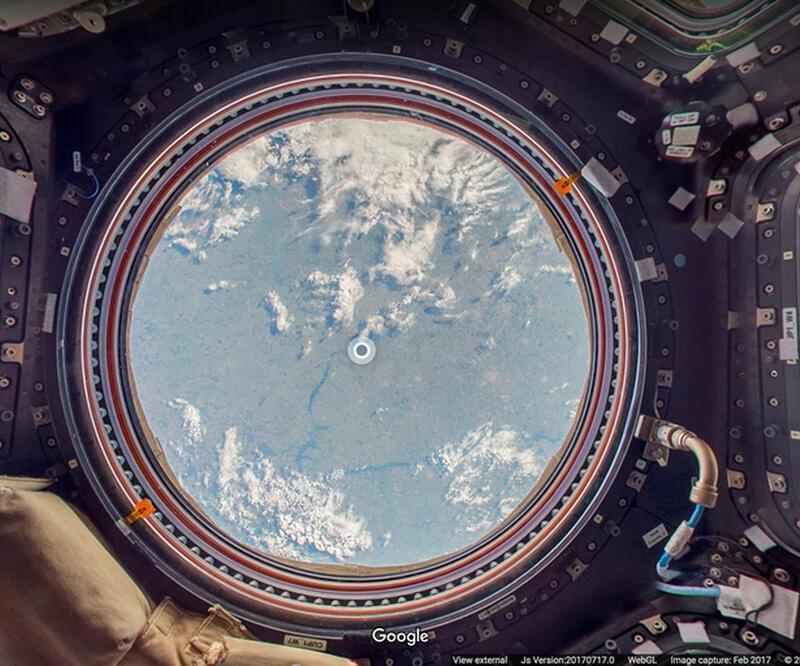 Uzay istasyonunu gezebilir ve dünyayı uzaktan görebilirsiniz