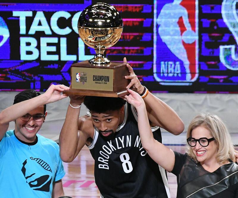 NBA All-Star'da yetenek yarışmasını Dinwiddie kazandı