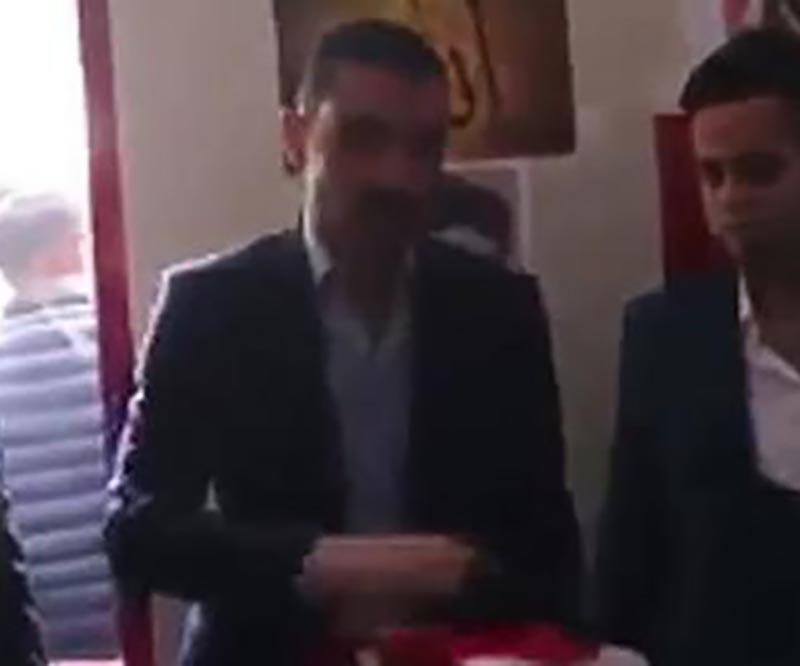 Konya'da ülkücüler üniversiteye 'uç beyi' atadı