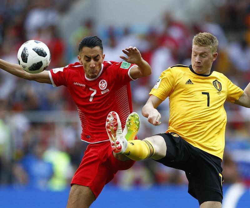 Tunus'a 5 atan Belçika futbol budur dedirtti
