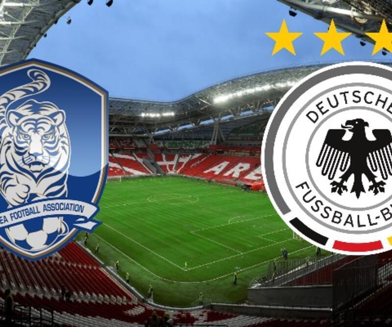 Güney Kore-Almanya maçı izle | TRT 1 canlı yayın (Dünya Kupası)