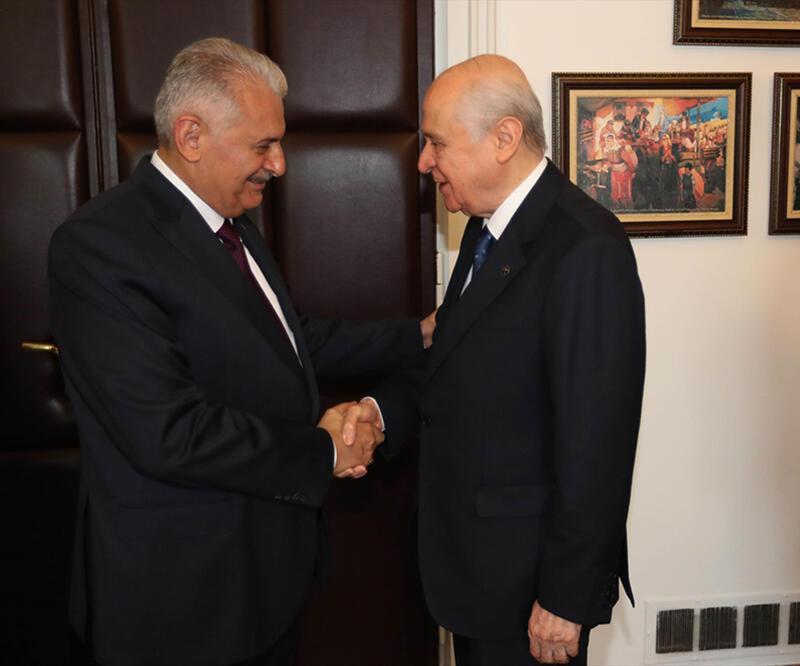Başbakan Yıldırım, MHP lideri Bahçeli ile görüştü: Sıradaki görevi ne?