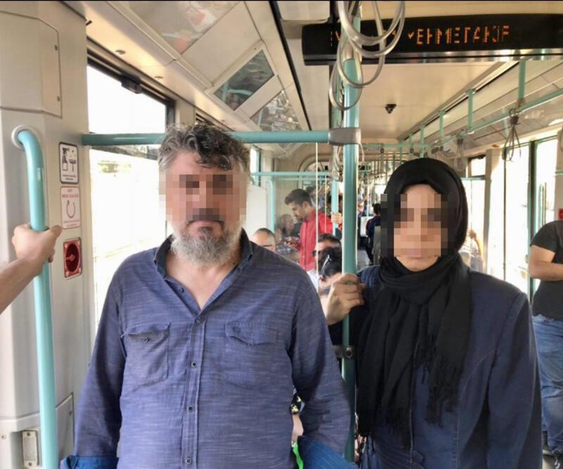 Tramvayda FETÖ operasyonu: 2 gözaltı